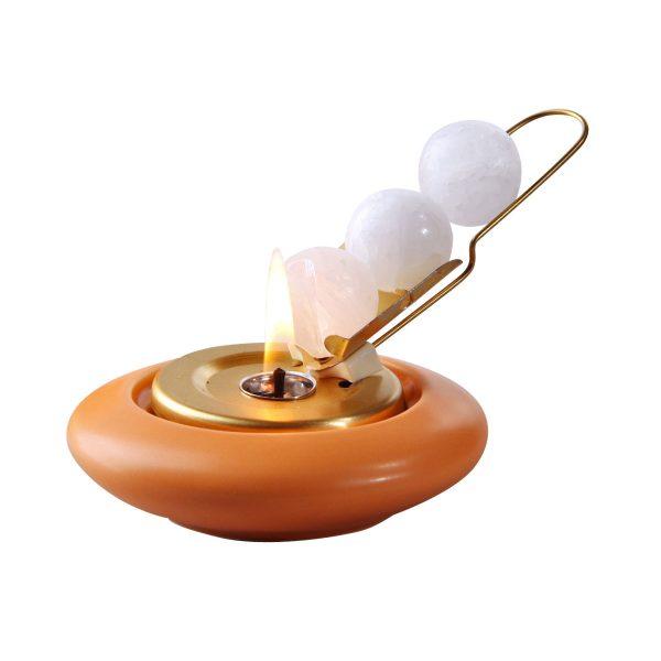 Mini-Diskus apricot – Rutsche messing-0