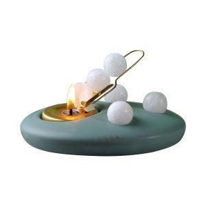 Oval mint - Rutsche messing-0