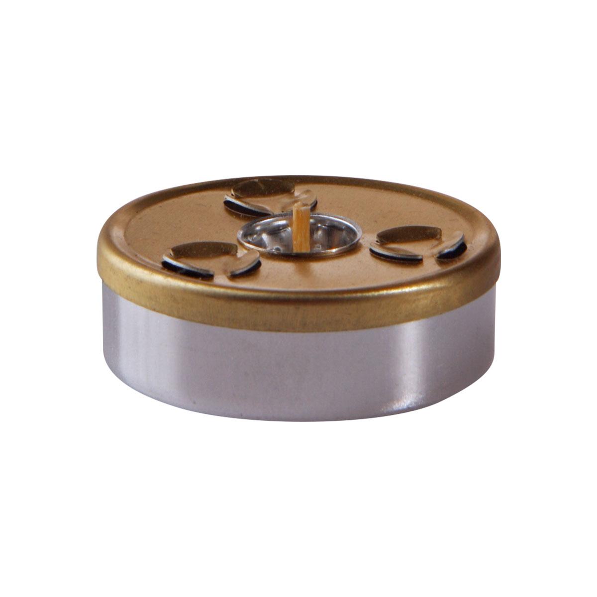 Maxi-Teelicht messing (2 Kugeln) – (VK-Set)-0